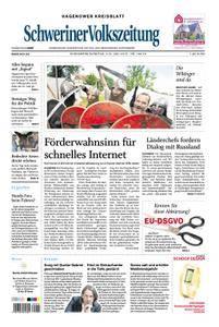 Schweriner Volkszeitung Hagenower Kreisblatt - 02. Juni 2018