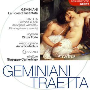 Giuseppe Camerlingo, Cosarara - Geminiani: La Foresta Incantata; Traetta: Sinfonia e Arie dall'opera Armida (2003)