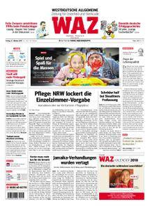 WAZ Westdeutsche Allgemeine Zeitung Oberhausen-Sterkrade - 27. Oktober 2017