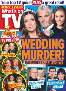 What's on TV - 30 November 2019