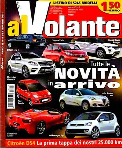 Al Volante - Settembre 2011