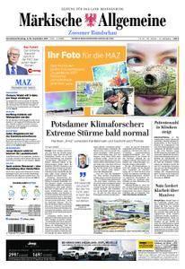 Märkische Allgemeine Zossener Rundschau - 09. September 2017