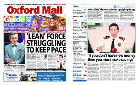 Oxford Mail – October 05, 2017