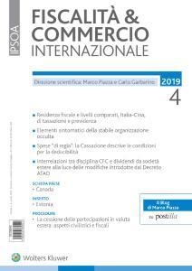 Fiscalità & Commercio Internazionale - Aprile 2019