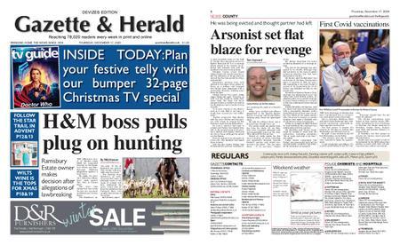 Gazette & Herald – December 17, 2020