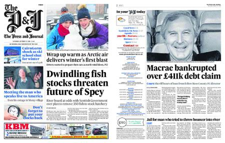 The Press and Journal Moray – October 27, 2018