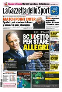 La Gazzetta dello Sport Roma – 20 aprile 2019