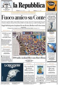 la Repubblica - 19 Ottobre 2019