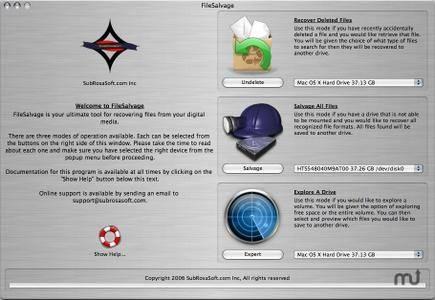 FileSalvage 9.1 Mac OS X