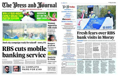 The Press and Journal Moray – April 23, 2018