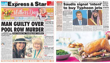 Express and Star City Edition – March 10, 2018
