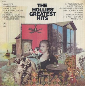 The Hollies ‎- The Hollies' Greatest Hits (1973) Epic/PE 32061 - US Pressing - LP/FLAC In 24bit/96kHz