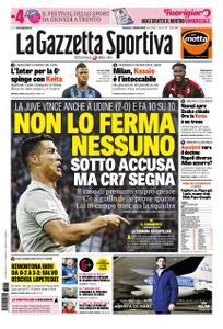 La Gazzetta dello Sport Roma – 07 ottobre 2018