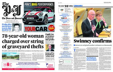 The Press and Journal Moray – August 12, 2020