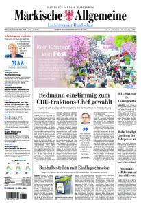 Märkische Allgemeine Luckenwalder Rundschau - 11. September 2019
