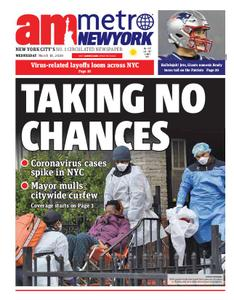 AM New York - March 18, 2020