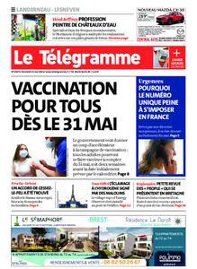 Le Télégramme Landerneau - Lesneven – 21 mai 2021