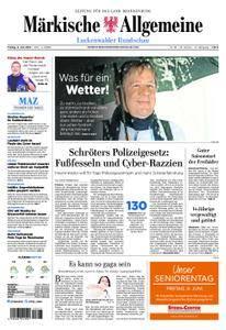 Märkische Allgemeine Luckenwalder Rundschau - 08. Juni 2018