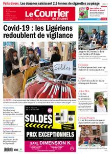 Le Courrier de l'Ouest Angers – 16 juillet 2020