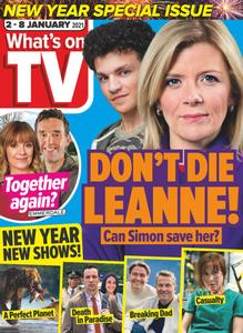 What's on TV - 02 January 2021