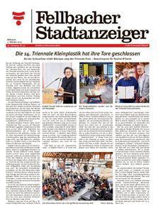 Fellbacher Stadtanzeiger - 02. Oktober 2019