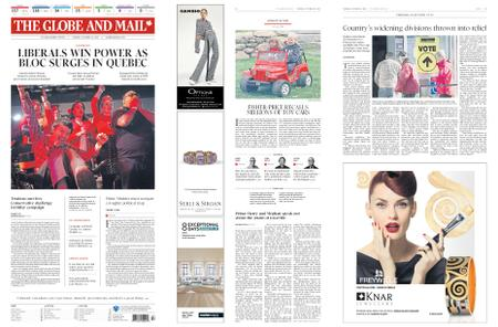 The Globe and Mail – October 22, 2019