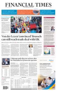 Financial Times Europe - September 18, 2020
