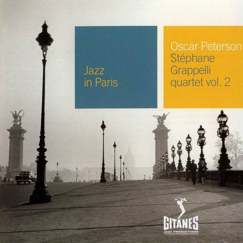 Oscar Peterson - Stephane Grappelli Quartet Vol. 1-2 [Recorded 1973] (2001) (Repost)
