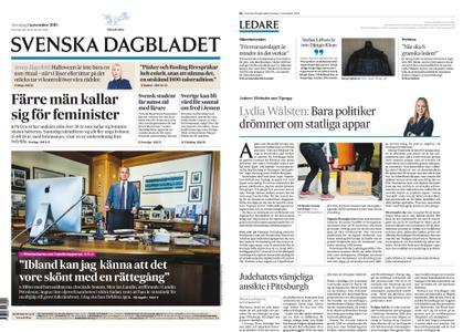 Svenska Dagbladet – 01 november 2018