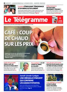 Le Télégramme Landerneau - Lesneven – 27 juillet 2021