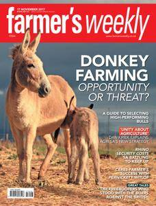 Farmer's Weekly - 17 November 2017