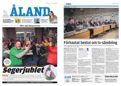 Ålandstidningen – 25 maj 2020