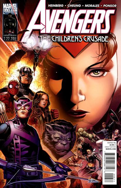 Avengers: The Children's Crusade #6 (of 9, 2011)
