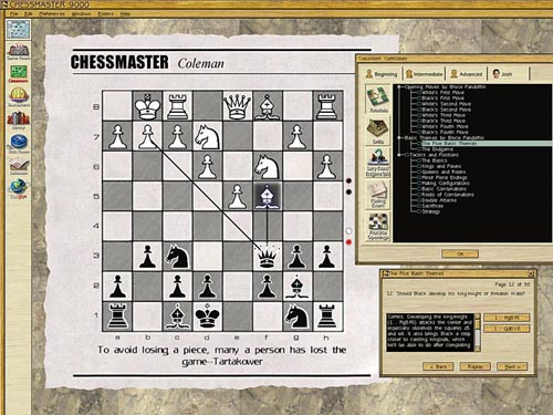 CHESSMASTER 9000 (Game)