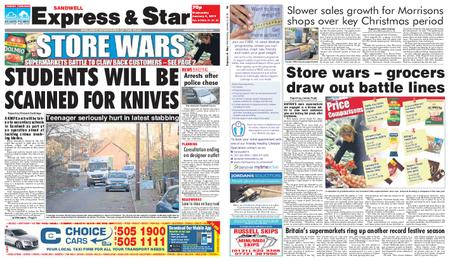 Express and Star Sandwell Edition – January 09, 2019