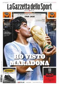 La Gazzetta dello Sport Roma – 26 novembre 2020