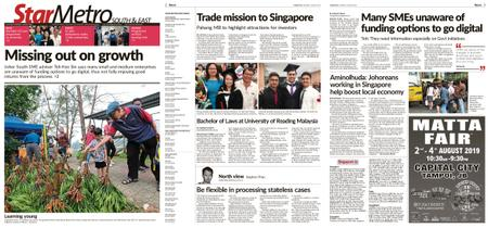 The Star Malaysia - Metro South & East – 01 August 2019