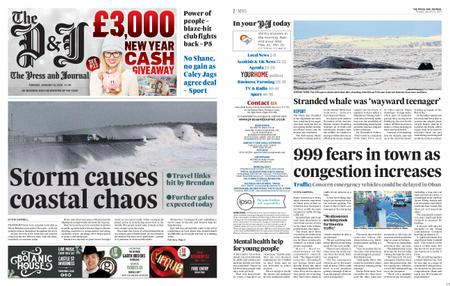 The Press and Journal Moray – January 14, 2020