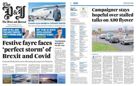 The Press and Journal Moray – September 02, 2021