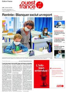 Ouest-France Édition France – 21 août 2020