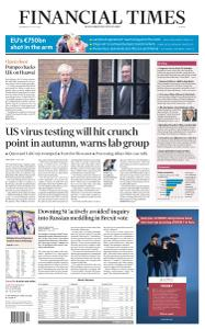 Financial Times Europe - July 22, 2020