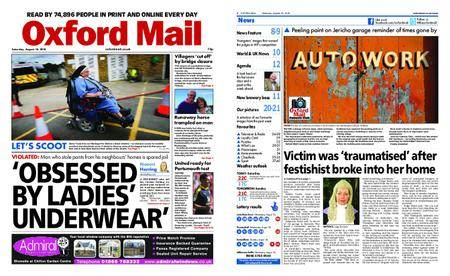 Oxford Mail – August 18, 2018