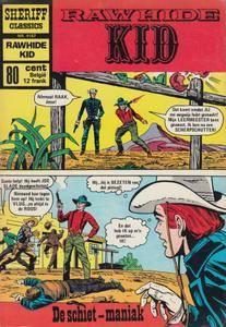 Sheriff Classics 187 Rawhide Kid De Schiet Maniak