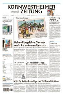Kornwestheimer Zeitung - 21. September 2018