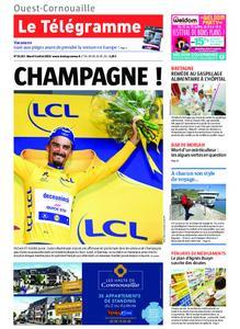 Le Télégramme Ouest Cornouaille – 09 juillet 2019