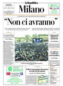 la Repubblica Milano – 19 maggio 2019