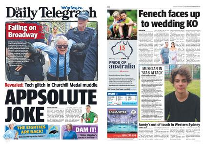 The Daily Telegraph (Sydney) – October 08, 2019