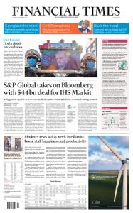 Financial Times Middle East - December 1, 2020