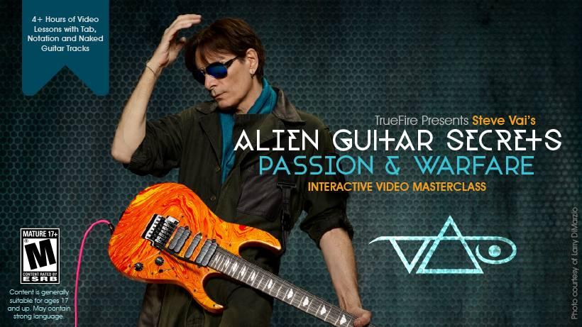 TrueFire - Steve Vai's Alien Guitar Secrets: Passion & Warfare (2016)