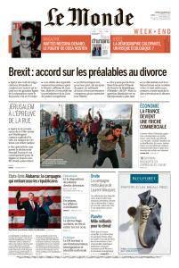 Le Monde du Samedi 9 Décembre 2017
